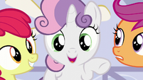 Sweetie Belle --And it's totally normal to feel confused-- S6E4