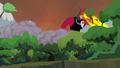 Tirek destroying the trees S4E26.png