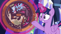 "Twilight Sparkle ""beasts of pure fire"" S8E23"