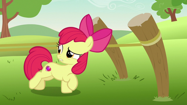 """File:Apple Bloom """"we are?"""" S7E7.png"""