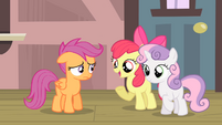 Apple Bloom '...you were gonna miss the train!' S4E05