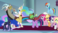 "Discord ""yeah, yeah, yeah, we get it"" S9E1"