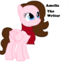 FANMADE Amelia The Writer.png