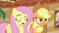Fluttershy --I know you and the rest of the Apple family-- S6E20