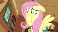 Fluttershy laments the loss of her lamp S03E10