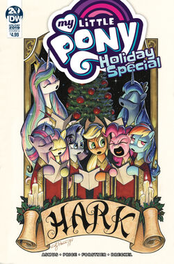 MLP Holiday Special 2019 cover A