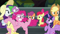 Pinkie Pie about to speed away S6E7.png