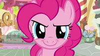 Pinkie Pie getting ready S2E18