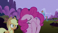 Pinkie Pie putting hoof on face S2E03.png