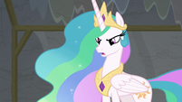 "Princess Celestia ""you insulted my acting"" S8E7"
