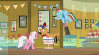 "Rainbow ""I've totally got your flank"" S9E6"