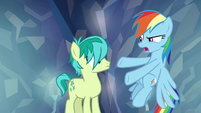 "Rainbow ""are you really that selfish?"" S8E22"