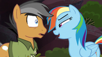 """Rainbow """"you might even think it was unrealistic"""" S6E13"""