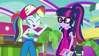 "Rainbow Dash ""like literal awesome"" EGSB"