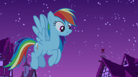 Rainbow Dash getting hopeful again S6E15