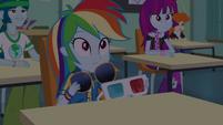 Rainbow Dash removing her eyewear EGDS22