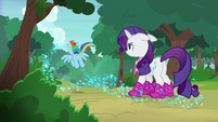 Rainbow flies down the trail of Azurantium S8E17