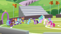 Rainbow suspiciously questions Twilight S9E15