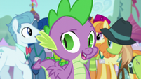 Spike -as long as they think it came from Twilight- S5E10