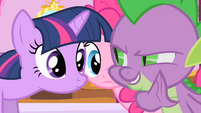 Spike admits his crush on Rarity S1E20