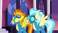 Spitfire and Misty Fly with their wings opened S5E15