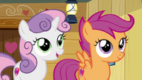 Sweetie Belle --but now we don't have to-- S6E4