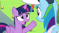 Twilight Sparkle --just created a gust of wind-- S6E24