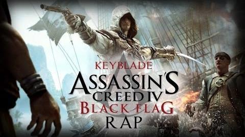 ASSASSIN'S CREED IV BLACK FLAG RAP Izad la bandera Keyblade