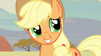 Applejack Love you guys S2E14