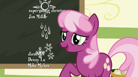 "Cheerilee ""hold off on the lesson"" S9E12"