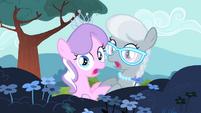 Diamond Tiara and Silver Spoon shocked S4E05