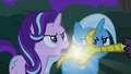 Discord snaps his fingers in Starlight's face S6E25.png