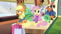 "Fluttershy ""It's already Hearth's Warming Eve"" MLPBGE"