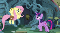 "Fluttershy ""it's just like the illustrations"" S7E20"