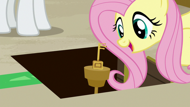 File:Fluttershy finds the room key S7E2.png