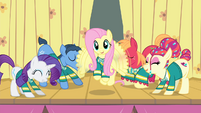 Fluttershy happy wing flutter S4E14