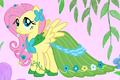 Fluttershy in her gala dress crop S1E14.png