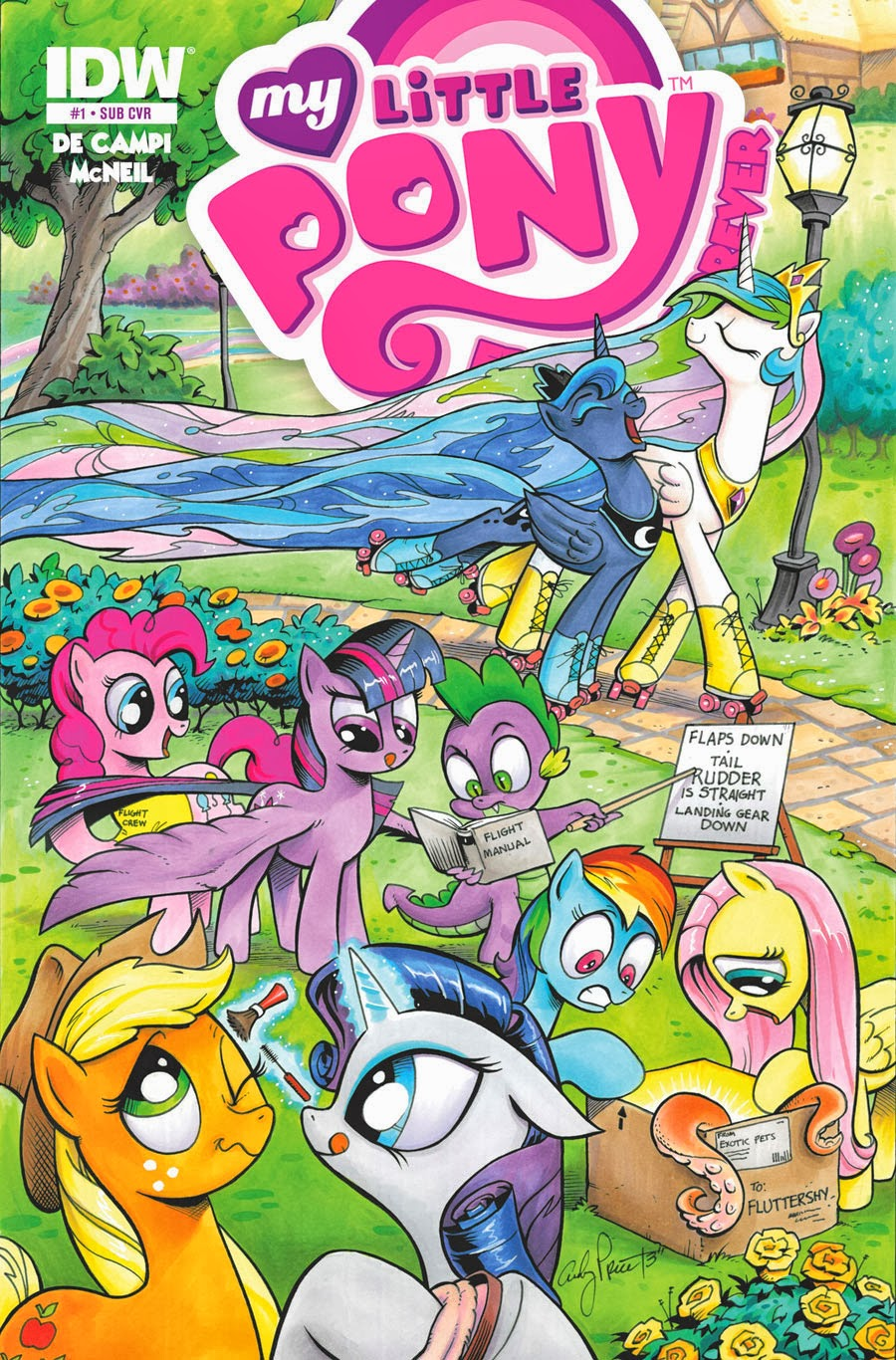 My Little Pony Friendship Is Magic Comic Pdf