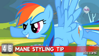 """Hot Minute with Rainbow Dash """"just fly through some clouds"""""""