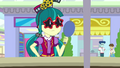 Juniper modeling sunglasses in a hand mirror EGS3.png