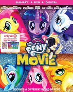 My Little Pony The Movie Blu-ray + DVD Target Exclusive Cover