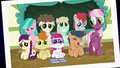 Picture Day photo of Cheerilee and sick foals S7E3.png