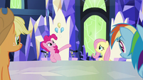 "Pinkie Pie ""born to wander Equestria"" S9E14"