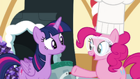 Pinkie Pie 'I'm making candy for all of us!' S4E18