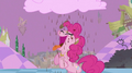 Pinkie Pie drinks chocolate milk raining from the cloud S2E02.png