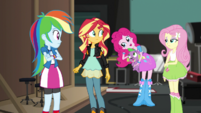 Pinkie Pie reaching into her hair EGS2