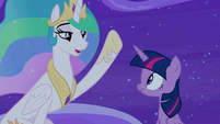 "Princess Celestia ""the show must go on"" S8E7"