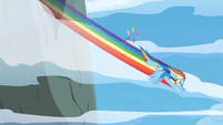 Rainbow Dash intercept course S3E07