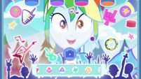 "Rainbow Dash using ""Rock Band"" filter EGDS44"