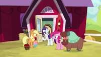 "Rarity ""I already told Yona"" S9E7"